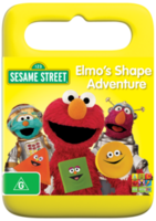 ElmosShapeAdventureAustralianDVD