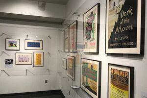 Inspired exhibit corner