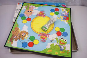 Muppet Babies 1984 board game 02