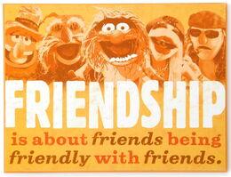 Plaque mayhem friends