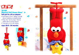 Tyco 1998 musical pull down elmo