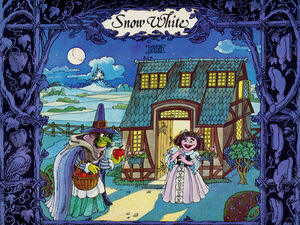 1977 calendar Snow White