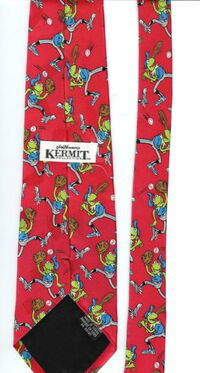 Kermit collection baseball tie 2