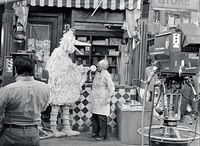 Bigbird and mr hooper