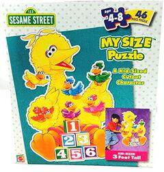 Mattel my size big bird puzzle
