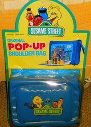 Pop-up shoulder bag 1