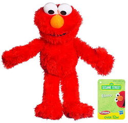 Sesame street mini plush elmo 2011