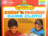 Muppet Color 'n Recolor Game Cloth