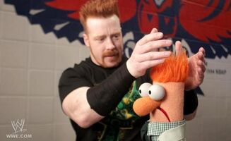 Beaker and Seamus O'Shaunessy