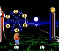 Ernie in NES Letter-Go-Round game
