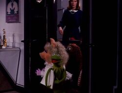 Kermit's entrance