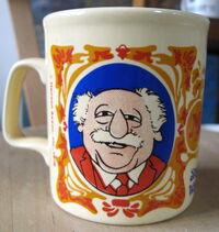Kiln craft muppet show mug statler waldorf 1