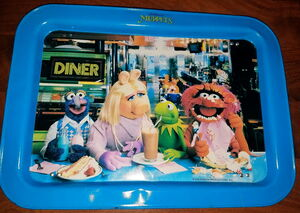 Muppet tv tray lunch counter