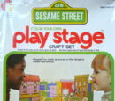 Color-Your-Own Play Stage
