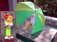 Shaw creations ernie bert umbrella 2000ish