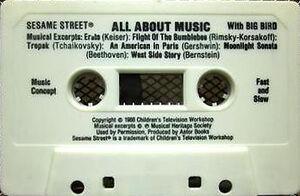 AllAboutMusicFastSlowCassette
