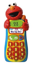 Elmo cell phone knows your name 2