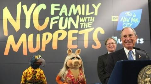 Mayor Bloomberg NYC Official 2012 Family Ambassador