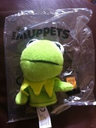 Odeon 2014 finger puppet kermit
