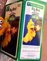 Questor child guidance puppets big bird box 1977
