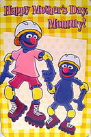 American greetings 2000 grover's mommy