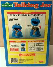 Funomenon 1998 cookie monster talking jar 4