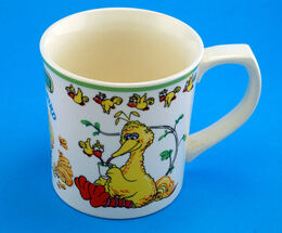 Gorham 1977 big bird mug