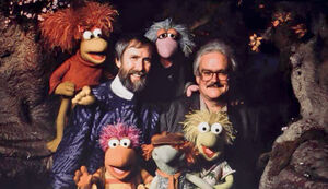 Jim and Jerry with Fraggles