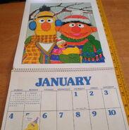 Sesame 1981 poster calendar 2