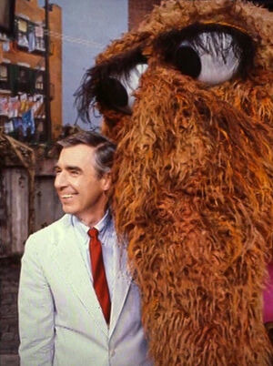 Fred Rogers and Snuffy