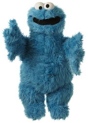 Living puppets cookie monster 65cm