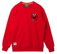 Pancoat crewneck red elmo