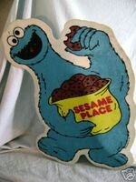 Sesame Place wall hanging Cookie Monster