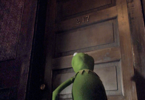VMX Kermit in Piggy's apt building