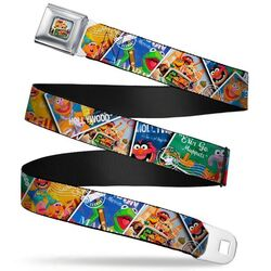 Buckle-down muppets postage stamps stacked belt