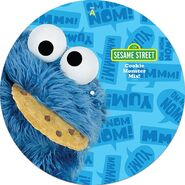 Cracker Barrel vinyl Cookie Monster Mix A