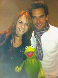 Kermit y cristian de la fuente