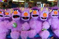 Two-Headed Monster Sesame Place plush
