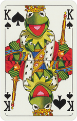 1978 playing cards King Spades