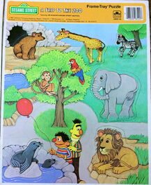 1986 puzzle trip to the zoo