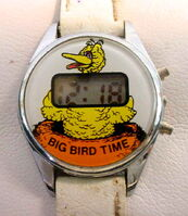 Bradley time big bird digital watch