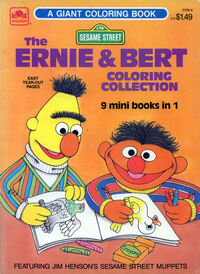Ernie bert coloring collection