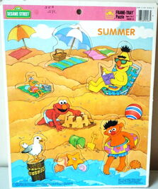 Golden frame-tray summer 1991