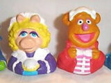 The Muppet Christmas Carol finger puppets