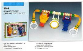 Illco 1989 baby toys crib & play pen toy