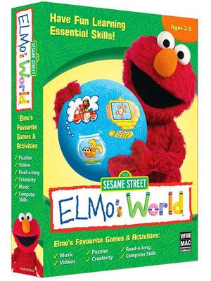 ElmosWorldElmosFavouriteGamesandActivities