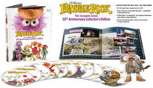 Fraggle Rock Blu-ray spread