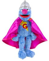 Sesame place plush super grover 11-5