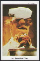 Sweden swap gum cards 54 swedish chef