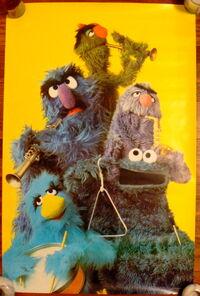 American publishing 1979 monster poster